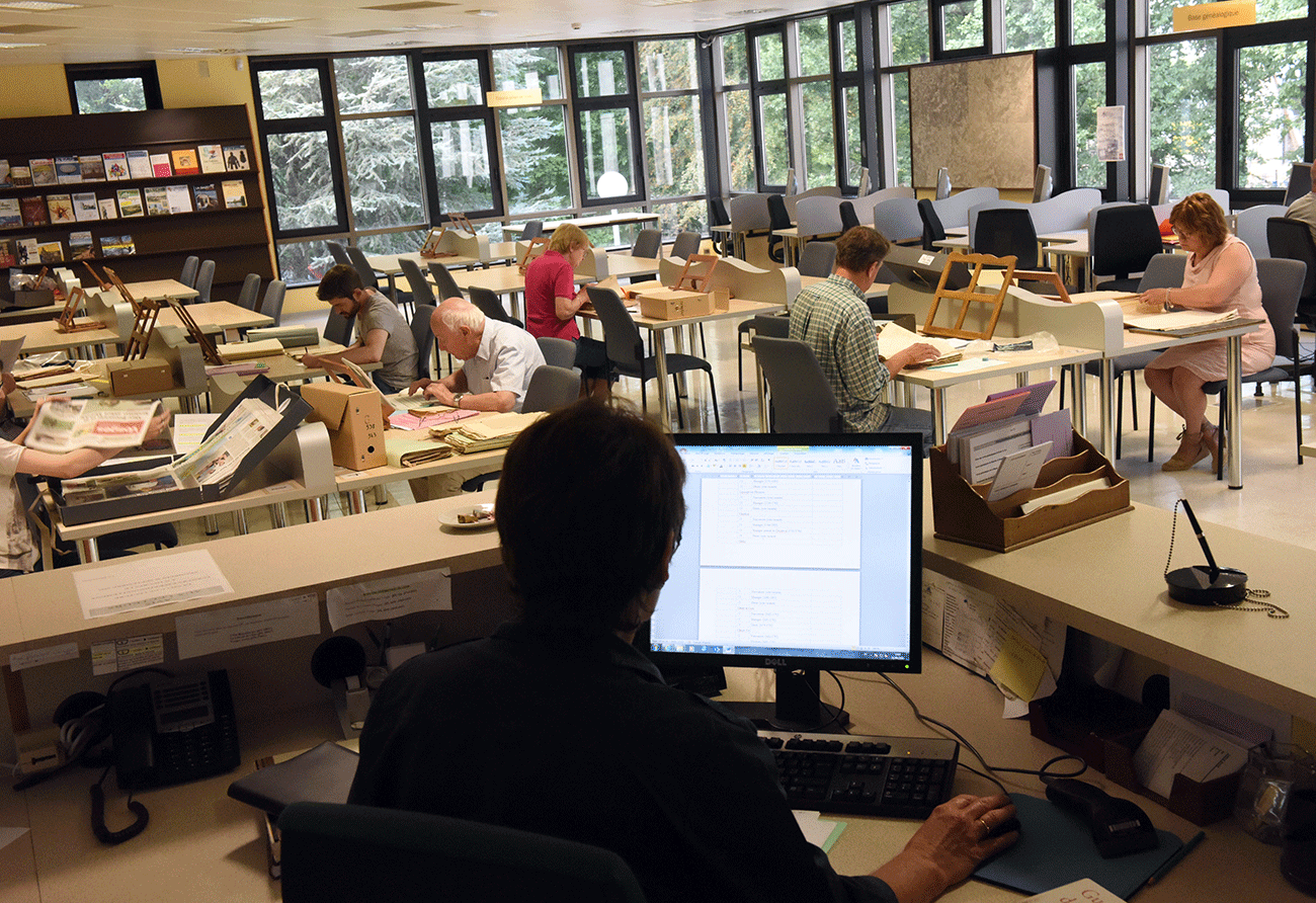 fonctionnement de la salle de lecture